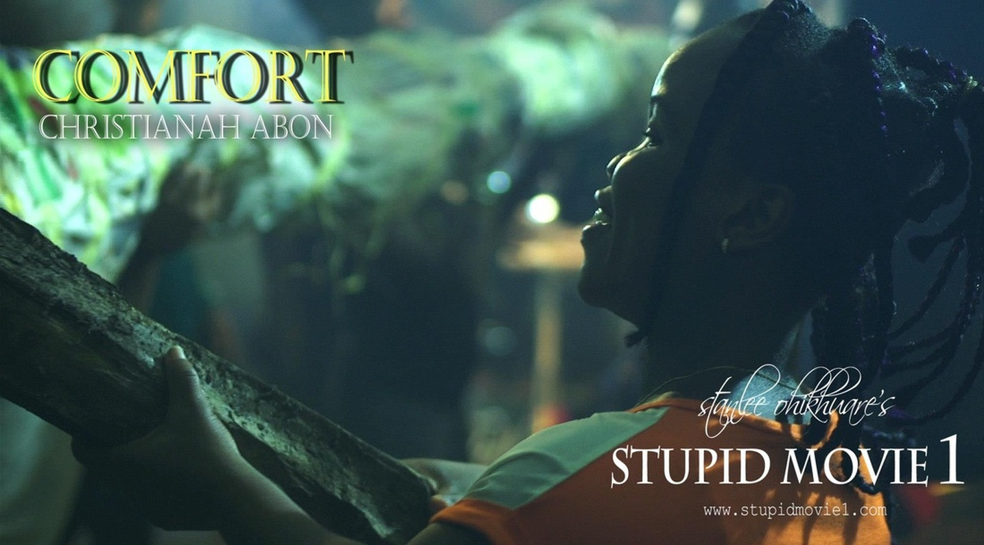 (STUPID MOVIE CAST)  ABON CHRISTIANAH A.K.A SHARPERLY AS COMFORT