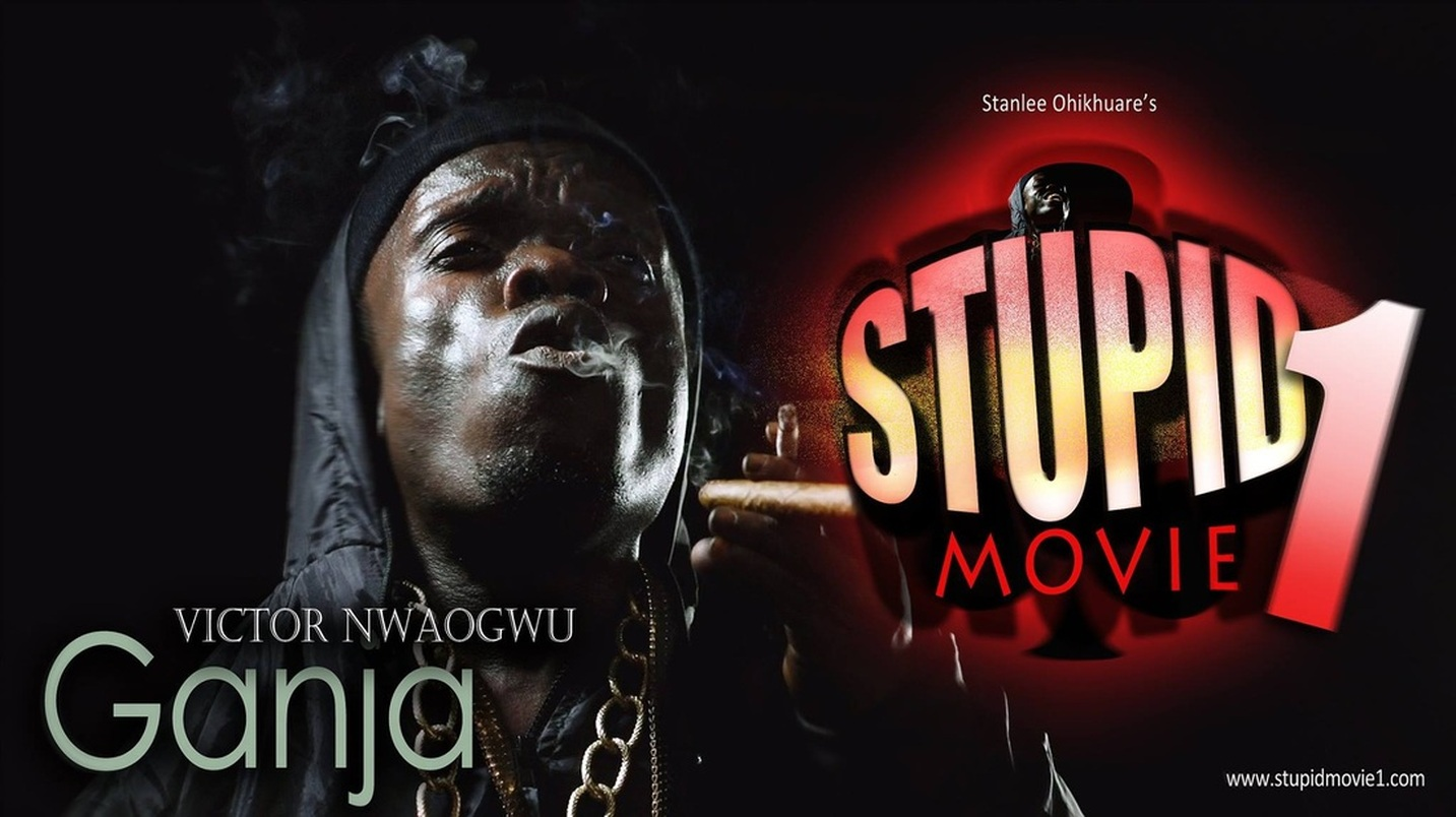 (STUPID MOVIE CAST) VICTOR NWAOGU A.K.A NKUBI AS GANJA