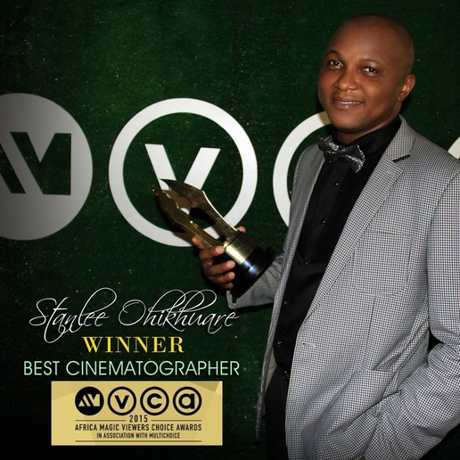 STANLEE OHIKHUARE - Winner, BEST CINEMATOGRAPHER AWARD, AMVCA 2015